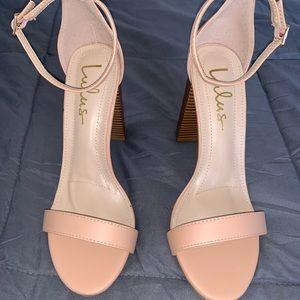 Lulus nude heels